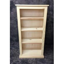 See Details - Maine Made 24X48 Bookcase 24W X 48H X 13D Pine Unfinished