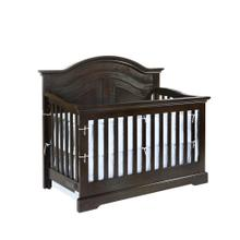 Waterford Curved Panel 4 in 1 Convertible Crib Dark Espresso Finish