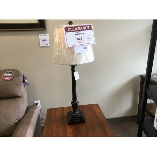 "Ashley ""Darshan"" Bronze L207044 Table Lamp 14W-14D-33 1/2H"