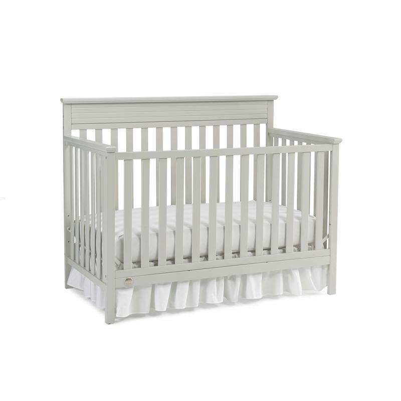 View Product - Fisher-Price Newbury Convertible Crib, Misty Grey