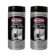 Weiman Stainless Steel Wipes - 2 Pack