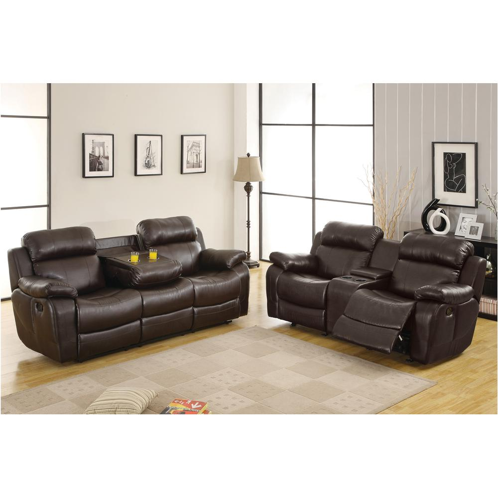 See Details - Marille Motion Sofa and Love Seat