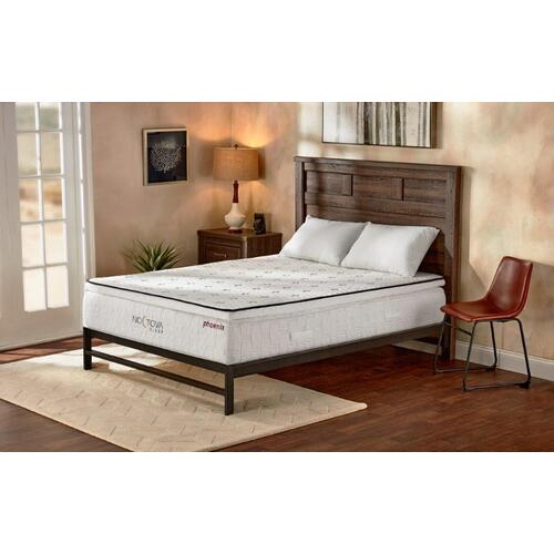 """13"""" Hybrid Queen Mattress with Pocketed Coil System and Gel-Infused Memory Foam"""