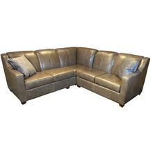 View Product - Leather 2 Piece Sectional #243879