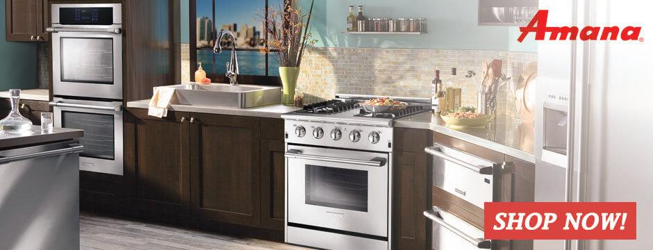 Shop Amana kitchen appliances at Van's