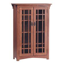 See Details - Mission 2 Door Bookcase