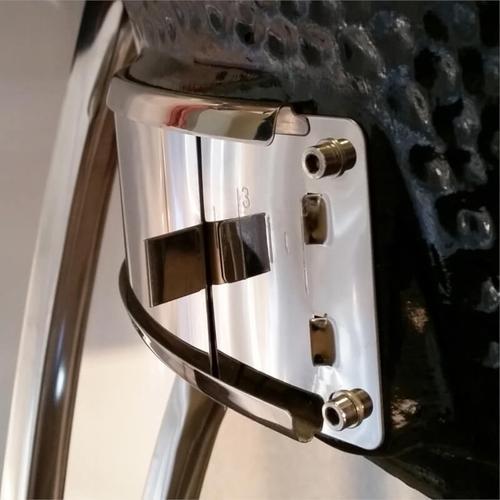 "Saffire Kamado - Platinum - XL 23"" - Black & Cart Kit"