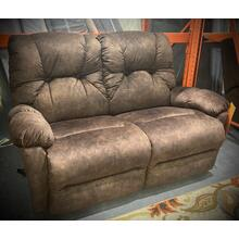 SPACE SAVER RECLINING CHAISE LOVESEAT  in COFFEE      (L950RA4-22836,27781)