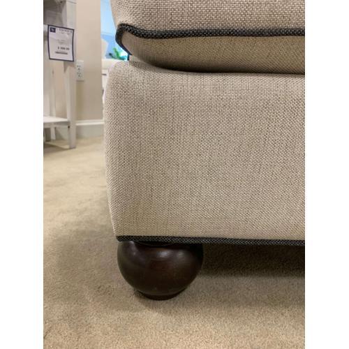 Bassett Custom Sofa with Contrast Welting