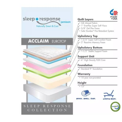 Sleep Response Collection - Acclaim - Euro Top