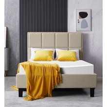 See Details - Upholstered Platform Bed LEVEL II