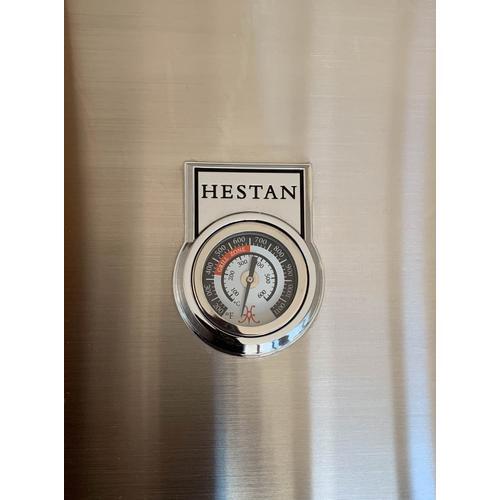 **30% OFF DISPLAY** Hestan 36'' Grill with Worktop & Storage, 2 Trellis Burners, 1 Infrared Burner & 1 Rotisserie - Pacific Fog