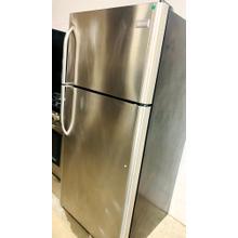 See Details - USED- Frigidaire 18.3 Cu. Ft. Top Freezer Refrigerator TMSS30-U SERIAL #88