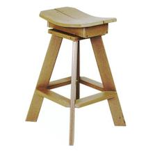 Stationary Bar Stool - 27""