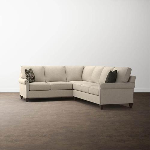 Premier Collection -  Custom Upholstery L-Shaped Sectional