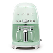 Smeg 50s Retro Style Design Aesthetic Coffee Machine, Pastel Green