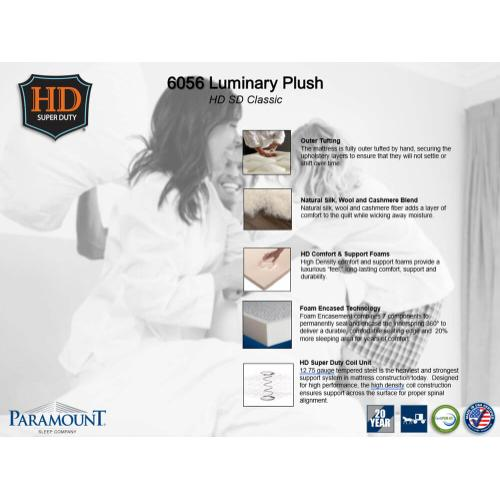 Paramount Sleep - Heavy Duty - Luminary - Plush