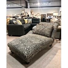 Zebra Chaise lounge