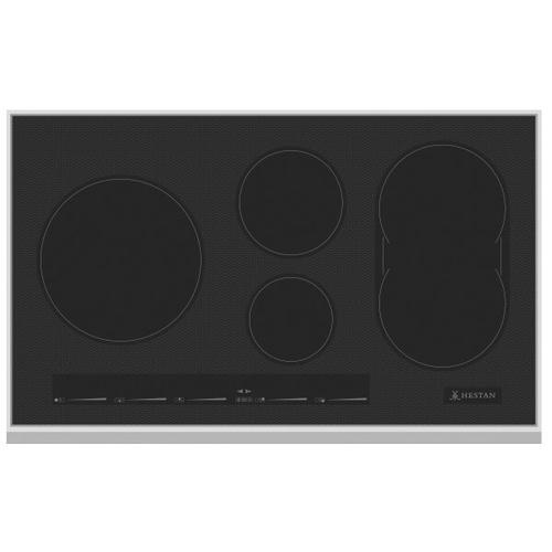 """36"""" Induction Cooktop Black Glass Finish"""