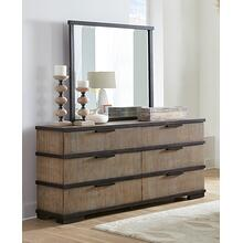 LIFESTYLE C8449A-045 C8449A-050 Brock Forge Dresser & Mirror