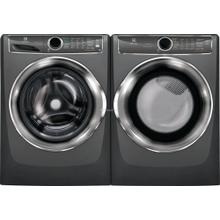 Electrolux Front Load Washer & Dryer in Titanium with Steam & SmartBoost