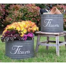 See Details - Set of 2 Flower Bins
