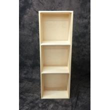 Cube3 Maine Made Triple Cube 14.5W X 42H X 11.25D Pine Unfinished
