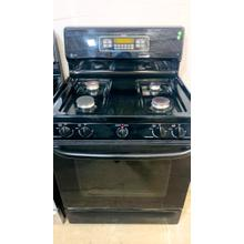 "USED- GE® 30"" Free-Standing Gas Range with Warming Drawer-G30SSSTV-USERIAL #82"
