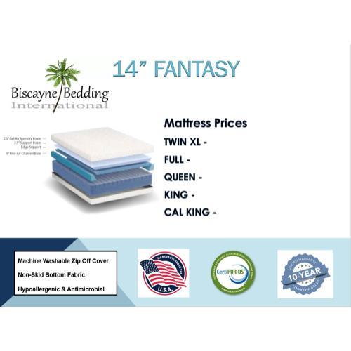 """Biscayne Bedding - 14"""" Fantasy"""