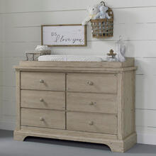 Cosi Bella Delfino Double Dresser - Farmhouse Pine