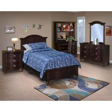 Kids Collection:  Victoria Espresso Bedroom Set