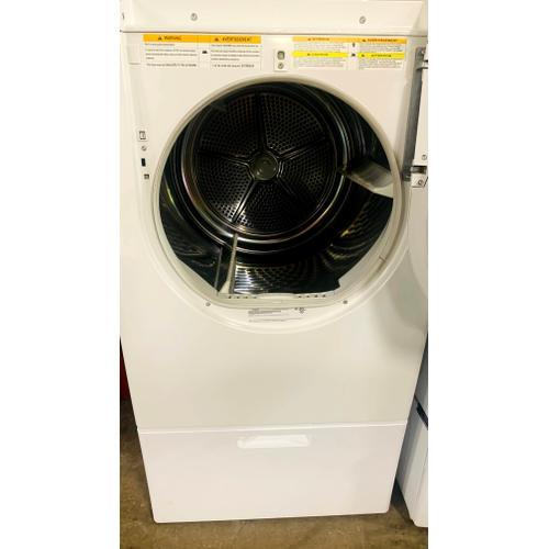 "Siemens - USED- 27"" UltraSense ® Electric Dryer- FLDRYE27W-U   SERIAL #91"