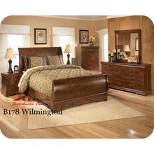 Ashley B178 Wilmington Bedroom set Houston Texas USA Aztec Furniture