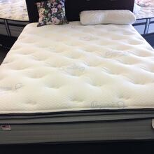 Heritage sleep Saphronia pillow top mattress queen