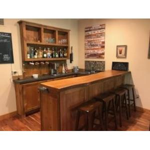 Cozy Finished Projects - Cozy custom Bar