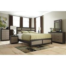 See Details - B142 Queen Bed, Dresser and Mirror, Nightstand, Chest of Drawers