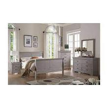 See Details - Louis Philippe Bedroom Set - gray