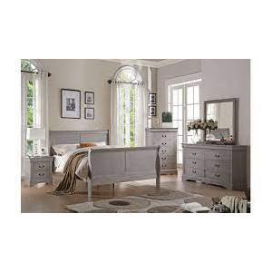 Gallery - Louis Philippe Bedroom Set - gray