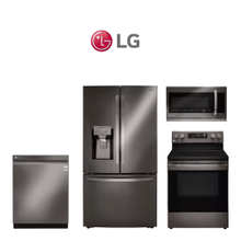 LG 4 Piece Black Stainless Kitchen Package. Price Valid Thru 9/30/20.