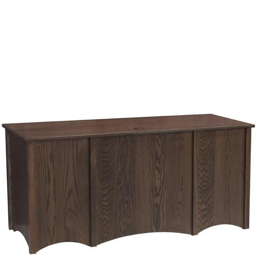 """McMillan 65"""" Desk with Finished Back"""