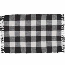 See Details - Wicklow Check Black Placemat