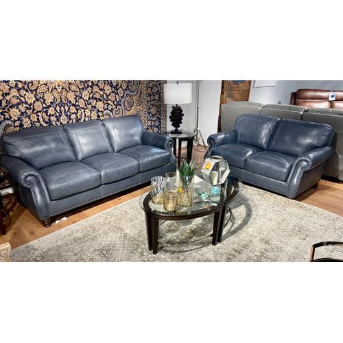Simon Li Furniture - Stallion Marine Leather Sofa & Loveseat