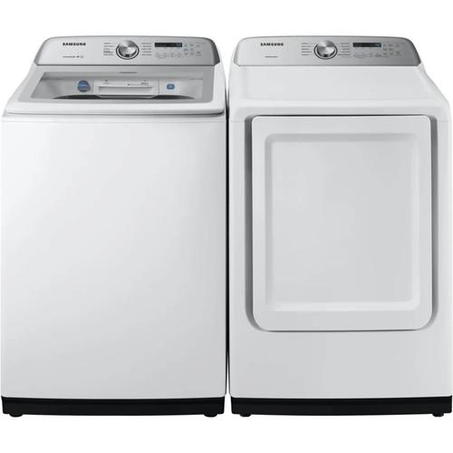 Samsung High Efficiency Top Load Washer & Dryer Pair