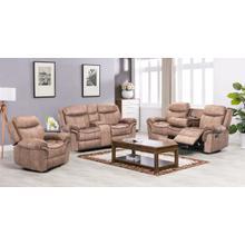 Boulder Tan Color Microfiber Sofa, Loveseat and Recliner