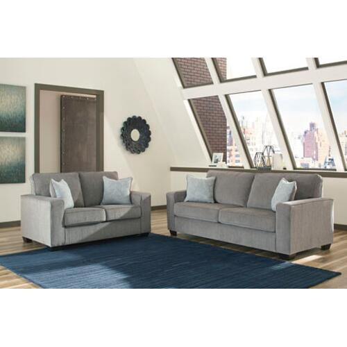 - Altari Sofa and Loveseat Set Alloy