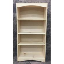See Details - 0219 Maine Made Arched Boockase 2 X 4 24W X 48H X 12D Pine Unfinished