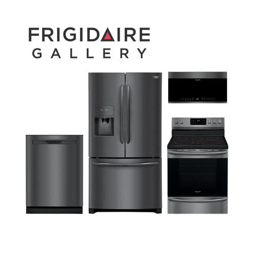 View Product - Frigidaire Gallery 4 Piece Black Stainless Steel Kitchen Package