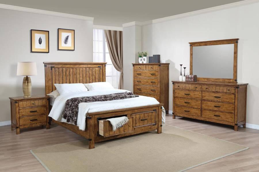 Brenner 4Pc Full Bed Set