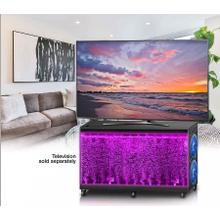 See Details - Bluetooth TV Stand with Waterfall Front and Explosive Sound