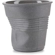 See Details - Revol Froisses Porcelain Espresso Tumbler Coffee Cup 100 Recyclay, 2.75 Oz